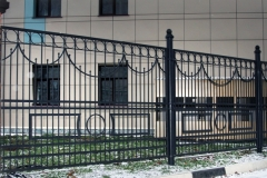 Забор для мдц Алина в Железнодорожном