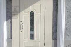 Стальная дверь мдф с доборами