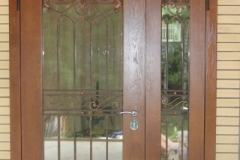 Двустворчатая  дверь на заказ