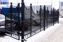 Металлический забор для Эдельвейс в Железнодорожном