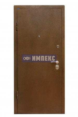 Стальная дверь c порошковым напылением антик
