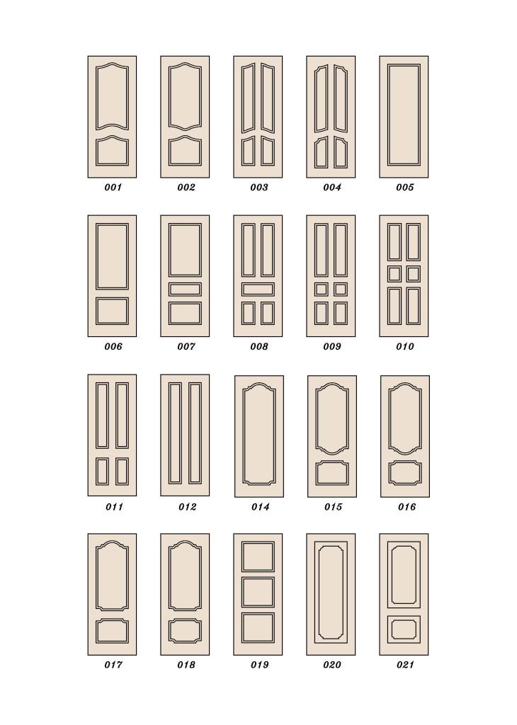 эскизы дверных панелей мдф 1